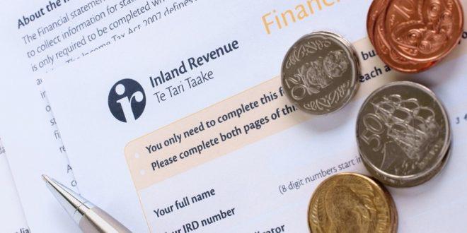 إصدار الرقم الضريبي في نيوزيلندا