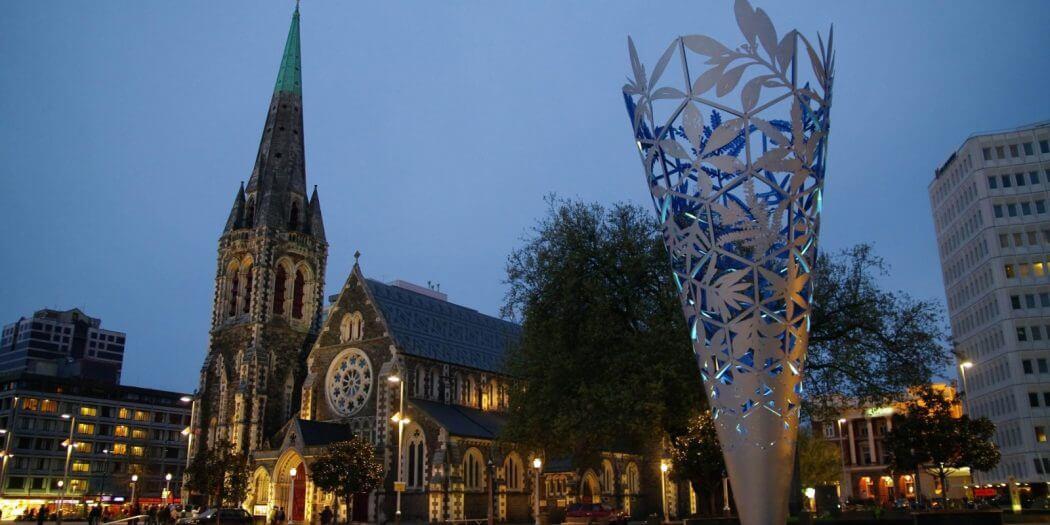 وسط كرايستشيرش Christchurch Downtown