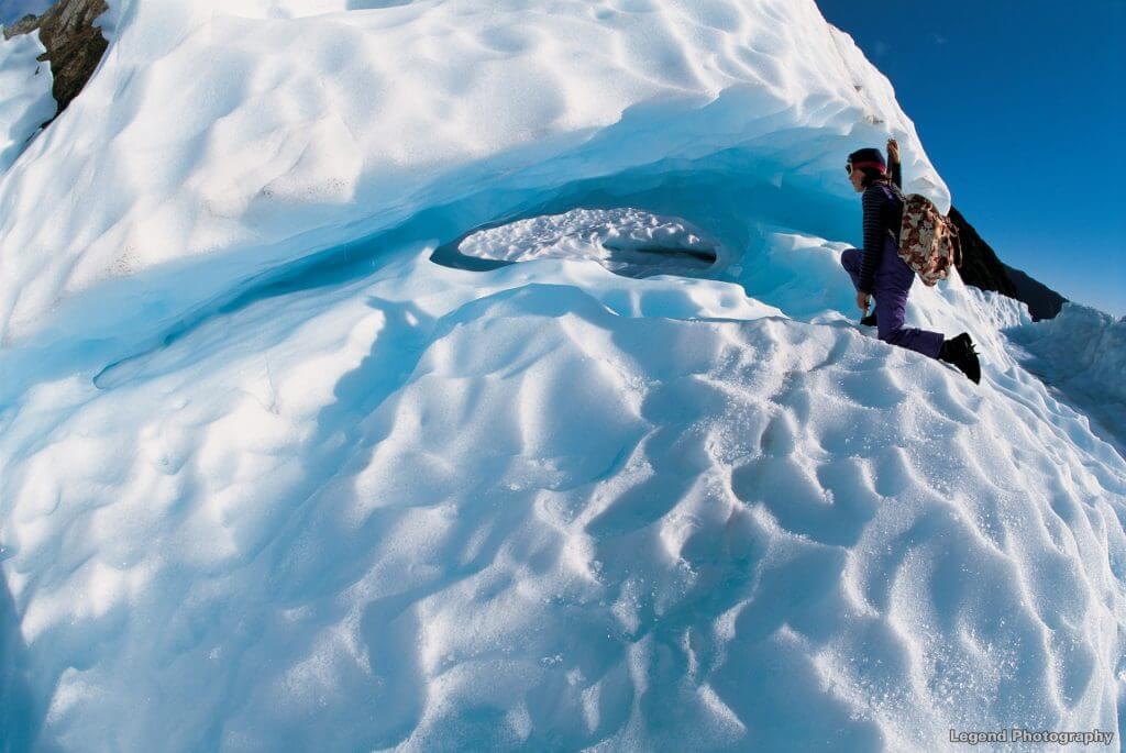 النهر الجليدي Fox Glacier