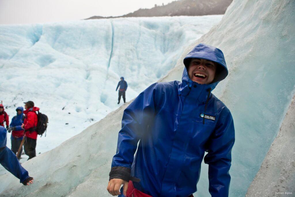 النهر الجليدي Franz Josef