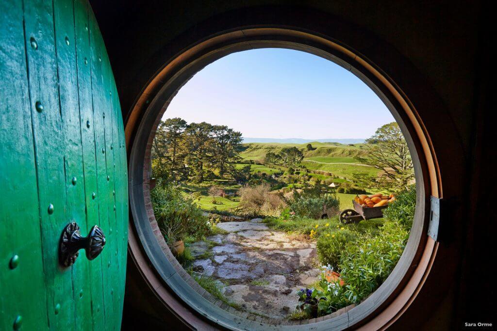 قرية هوبيتون - الصورة لـ Sara Orme
