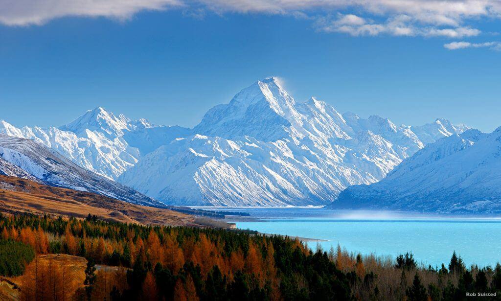 جبل كوك العظيم - الصورة لـ Rob Suisted