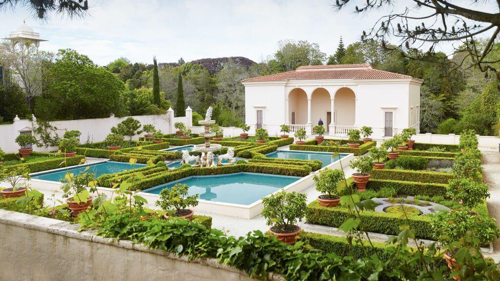 الحديقة الإيطالية من ضمن حدائق هاملتون