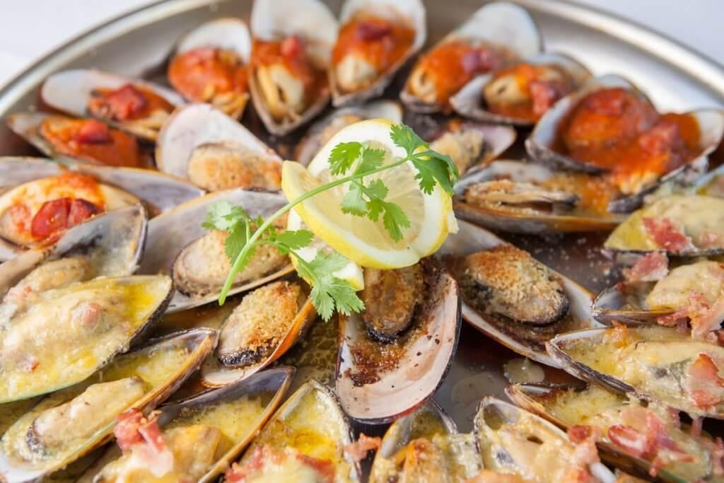 المأكولات البحرية في أوكلاند